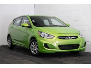 Used 2013 Hyundai Accent GL SIÈGES CHAUFFANTS A/C CRUISE for sale in Brossard, QC
