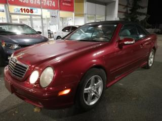 Used 2000 Mercedes-Benz CLK 430 430 Convertible for sale in Longueuil, QC