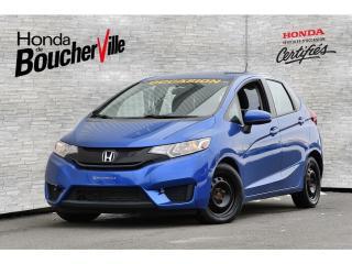 Used 2015 Honda Fit LX Manuel Jamais accidenté, 1 seul propriétaire for sale in Boucherville, QC
