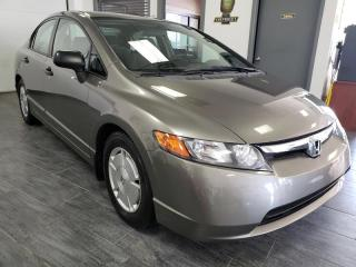 Used 2008 Honda Civic DX-G Manuelle for sale in Châteauguay, QC