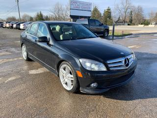 Used 2010 Mercedes-Benz C-Class C 350 for sale in Komoka, ON
