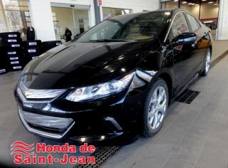 Used 2016 Chevrolet Volt Premier à hayon 5 portes Cuir Toit Navi for sale in St-Jean-Sur-Richelieu, QC