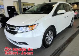 Used 2016 Honda Odyssey Familiale 4 portes EX-RES DVD Camera Por for sale in St-Jean-Sur-Richelieu, QC