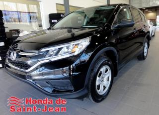 Used 2015 Honda CR-V 2 RM LX Camera Sieges Chauffants Bluetoo for sale in St-Jean-Sur-Richelieu, QC
