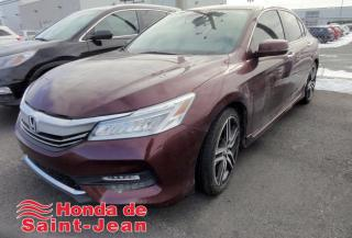 Used 2017 Honda Accord Touring I4 4 portes CVT Navi Cuir Toit C for sale in St-Jean-Sur-Richelieu, QC