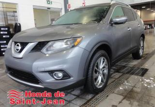 Used 2015 Nissan Rogue AWD SL Navi Toit Cuir Mags Camera 360 for sale in St-Jean-Sur-Richelieu, QC