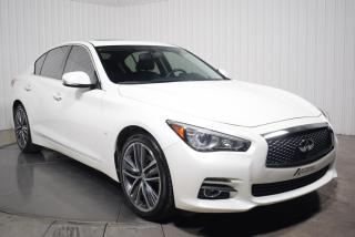 Used 2015 Infiniti Q50 LIMITED AWD CUIR TOIT MAGS 19P NAV for sale in St-Hubert, QC