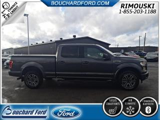 Used 2016 Ford F-150 XLT CREW 4X4 302A AVEC ENSEMBLE SPORT for sale in Rimouski, QC