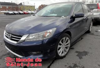 Used 2015 Honda Accord 4 portes V6 automatique Touring Navi Cui for sale in St-Jean-Sur-Richelieu, QC