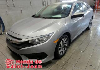 Used 2018 Honda Civic EX CVT Toit Camera Mags Bluetooth for sale in St-Jean-Sur-Richelieu, QC