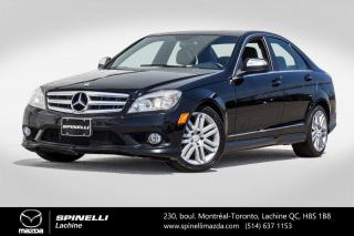 Used 2009 Mercedes-Benz C-Class 3.0L 4 MATIC GPS SIEGES CHAUFFANTS MERCEDES C300 2009 for sale in Lachine, QC