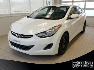 Used 2013 Hyundai Elantra GL + SIÈGES CHAUFFANT+ A/C + BLUETOOTH for sale in Ste-Julie, QC
