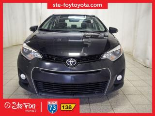 Used 2016 Toyota Corolla S GROUPE TECHNOLOGIE for sale in Québec, QC