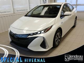 Used 2017 Toyota Prius Prime PRIME + GPS + A/C + CAMÉRA DE RECUL + BLUETOOTH for sale in Ste-Julie, QC