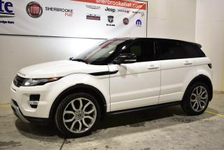 Used 2013 Land Rover Evoque Pure for sale in Sherbrooke, QC