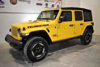 Used 2019 Jeep Wrangler Unlimited Rubicon 4x4 Navigation for sale in Sherbrooke, QC