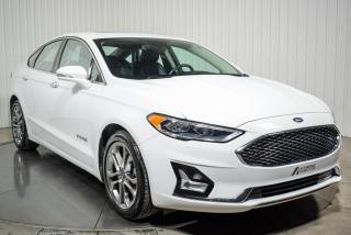 Used 2019 Ford Fusion Hybrid HYBRIDE TITANIUM CUIR TOIT NAV for sale in St-Hubert, QC