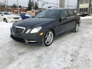 Used 2012 Mercedes-Benz E350 E 350 berline 4 portes 4MATIC for sale in Sherbrooke, QC