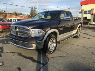 Used 2017 RAM 1500 Laramie Quad Cab 4X4 for sale in Sherbrooke, QC