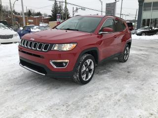 Used 2017 Jeep Compass 4 RM, 4 portes, Limited for sale in Sherbrooke, QC