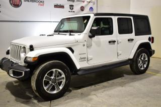 Used 2018 Jeep Wrangler Unlimited Sahara+Bluetooth+bas KM for sale in Sherbrooke, QC