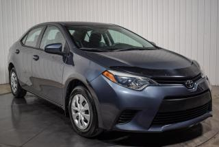 Used 2016 Toyota Corolla A/C for sale in St-Hubert, QC