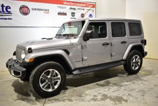 Used 2019 Jeep Wrangler Unlimited Sahara 4x4+navigation for sale in Sherbrooke, QC