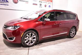 Used 2019 Chrysler Pacifica Limited+navigation+DVD+7 passagers for sale in Sherbrooke, QC
