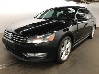 Used 2014 Volkswagen Passat TDI Highline NAVIGATION CAMERA FENDER MAGS 18 CUIR for sale in St-Eustache, QC