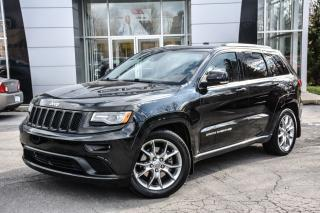 Used 2015 Jeep Grand Cherokee Summit for sale in Ile-des-Soeurs, QC