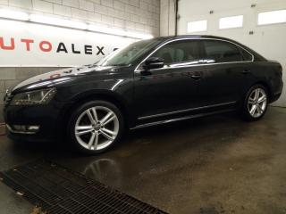 Used 2013 Volkswagen Passat TDI Highline NAVIGATION CAMERA FENDER MAGS 18 CUIR for sale in St-Eustache, QC