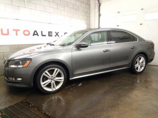 Used 2012 Volkswagen Passat TDI Highline NAVI *53,000KM* FENDER MAGS 18 CUIR for sale in St-Eustache, QC