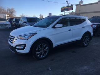 Used 2014 Hyundai Santa Fe Sport Limited à vendre AWD Nav Cuir Toit Pano for sale in Laval, QC