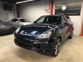 Used 2013 Porsche Cayenne V6, NAVIGATION, TOIT OUVRANT, AIDE AU ST for sale in Montréal, QC