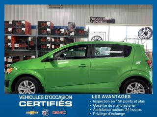 Used 2016 Chevrolet Sonic LT for sale in Amos, QC