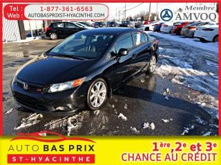 Used 2012 Honda Civic SI for sale in St-Hyacinthe, QC