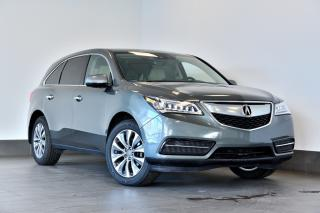 Used 2016 Acura MDX Tech Pkg Dvd-Gps-Cuir-toit for sale in Ste-Julie, QC