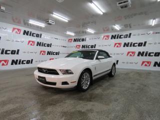 Used 2012 Ford Mustang V6 PREMIUM Sieges en CUIRS et CHAUFFANTS - Commande vocale - Regulateur de vitesses for sale in La Sarre, QC