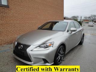 Used 2016 Lexus IS 300 ONEOWNER/NO ACCIDENTS/F Sport, LOW KM 58 K/ NAVI for sale in Oakville, ON
