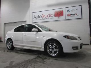 Used 2008 Mazda MAZDA3 GT Berline 2.3L Manuelle **TOIT OUVRANT* for sale in Mirabel, QC