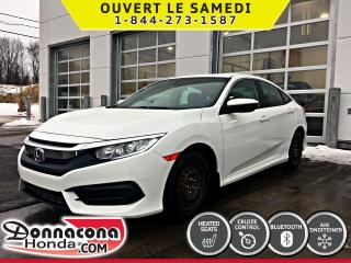 Used 2016 Honda Civic LX *GARANTIE GLOBALE AVRIL 2021* for sale in Donnacona, QC