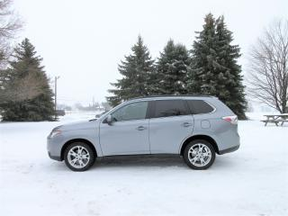 Used 2014 Mitsubishi Outlander GT 4WD 7 PASSENGER for sale in Thornton, ON