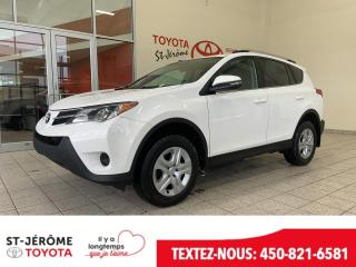 Used 2015 Toyota RAV4 * LE * CAMÉRA * SIÈGES CHAUFFANT * for sale in Mirabel, QC