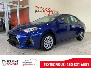 Used 2017 Toyota Corolla * SE * CAMERA DE RECUL * BLUETOOTH * for sale in Mirabel, QC