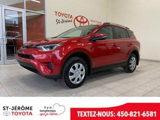 Used 2017 Toyota RAV4 * LE * CAMÉRA DE RECUL *** SIÈGES CHAUFFANT **** for sale in Mirabel, QC
