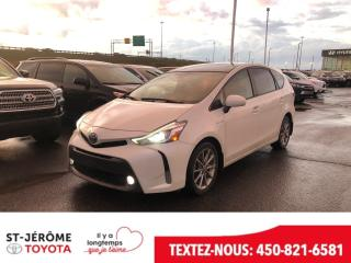 Used 2016 Toyota Prius V * CUIR * TOIT PANO * GPS * MAGS * for sale in Mirabel, QC