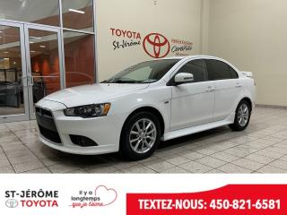 Used 2015 Mitsubishi Lancer * SE * MAGS * TOIT * 62 000 KM * for sale in Mirabel, QC