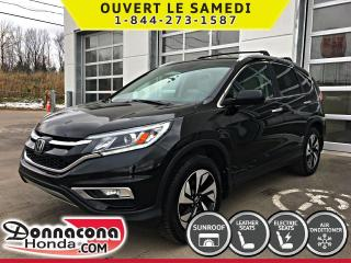 Used 2016 Honda CR-V TOURING AWD *GARANTIE 10 ANS/ 200 000KM* for sale in Donnacona, QC