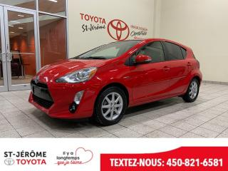 Used 2015 Toyota Prius c * CUIR * TOIT * GPS * 65 000 KM * for sale in Mirabel, QC