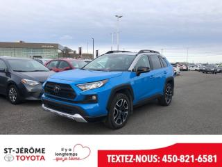 Used 2019 Toyota RAV4 * TRAIL * AWD * CUIR * TOIT * 12 000 KM * for sale in Mirabel, QC